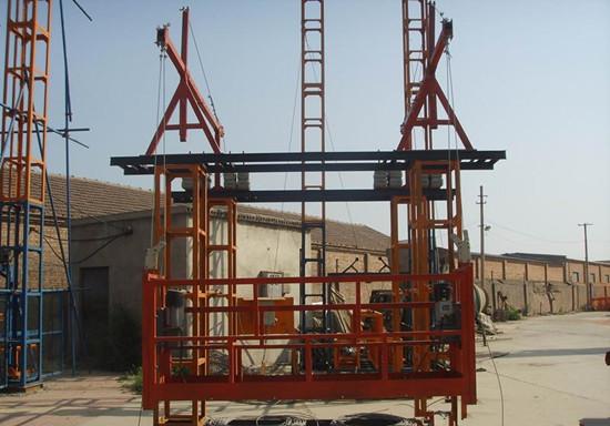 海利普hlp-b变频器应用于物料提升机稳定性好