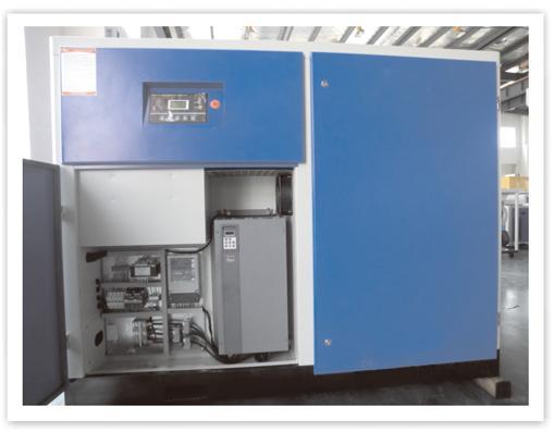 海利普hlp-sk180变频器应用于永磁同步螺杆空压机